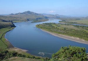 Набережная реки Селенга