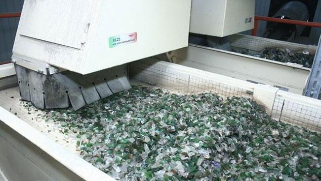 Утилизация стекла