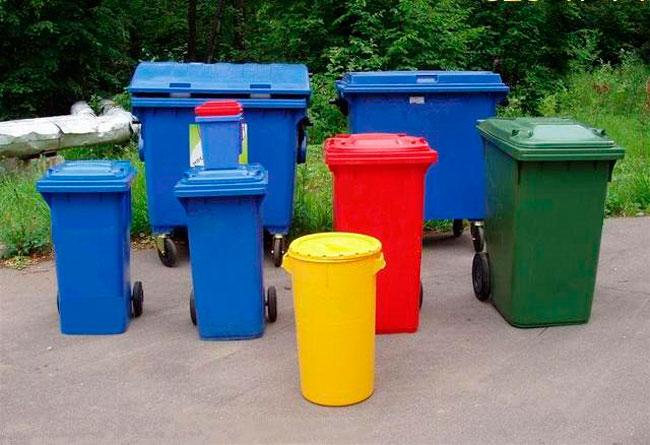 контейнера для бытового мусора