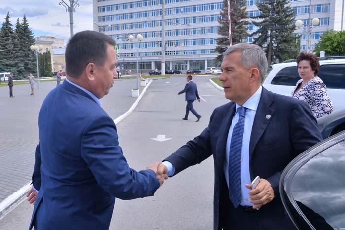 Встреча Полпреда Приволжья и секретаря Совета безопасности