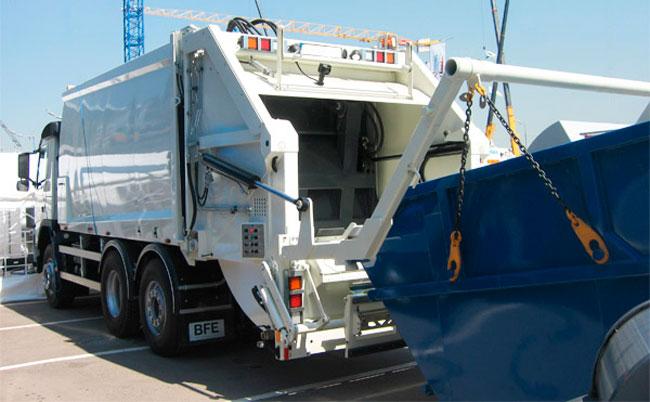 Вывоз мусора СВАО контейнер 8м3