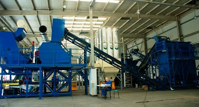 Завод по утилизации КГМ