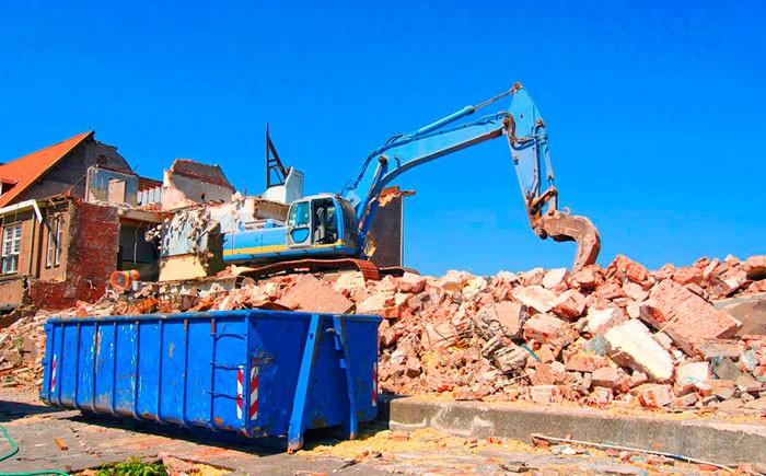 контейнер для строительного мусора