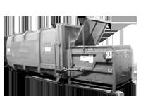 Пресс-контейнер для вывоза бытового мусора